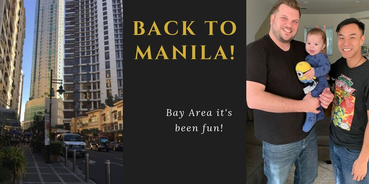 Early FI Journey – Back to Manila (October 7, 2019)