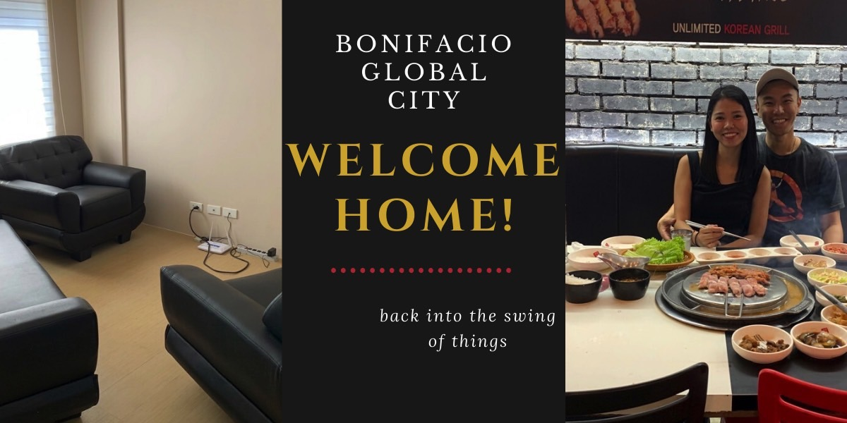 Welcome Home Manila – Getting Settled in to a New Life