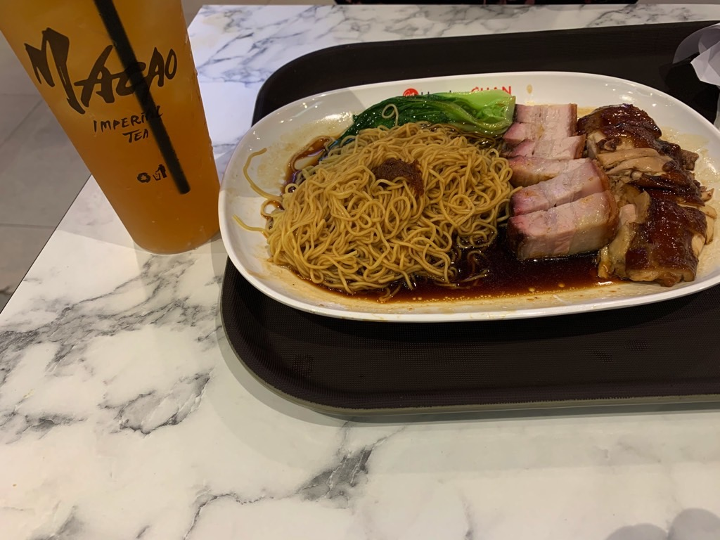 living in Manila, food district on 5th, BGC, Macao Imperial Tea, Hawker Chan