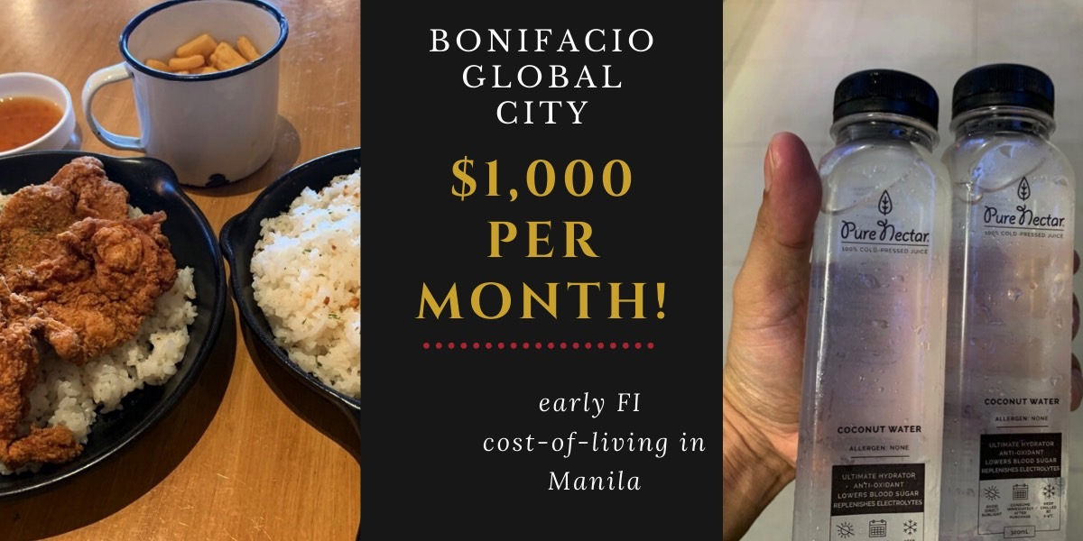 Living in Manila (BGC) for Less Than $1,000/Month