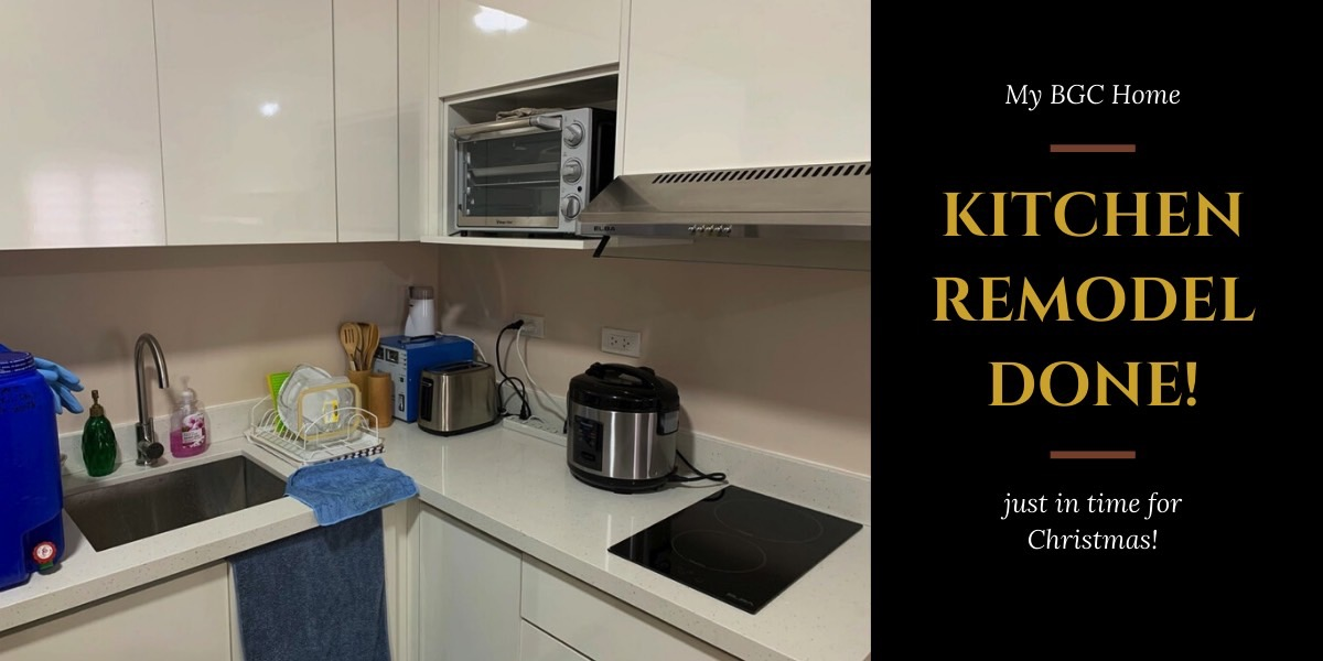 Kitchen Remodel Completed (December 24, 2019)
