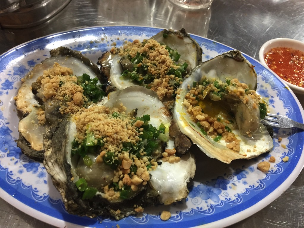 Ho Chi Minh City oysters
