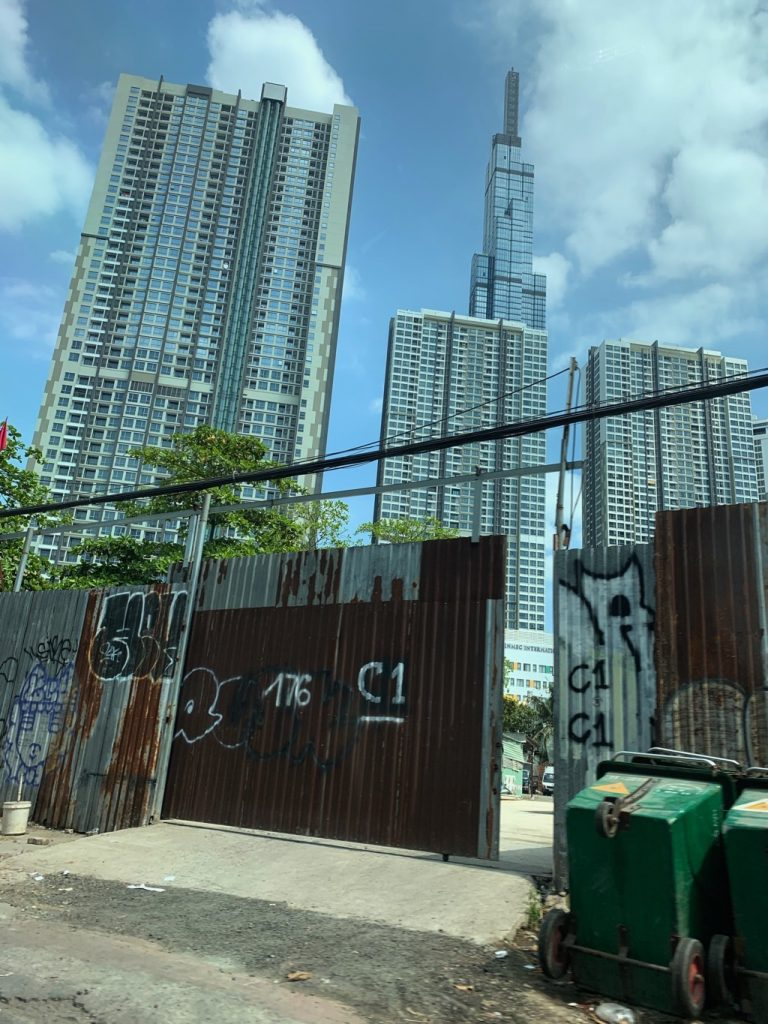 Driving over to Landmark 81